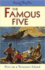 Five on a Treasure Island di Enid Blyton